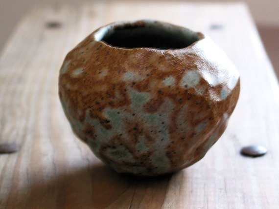 Reef Cenote Pinch Pot / Vase