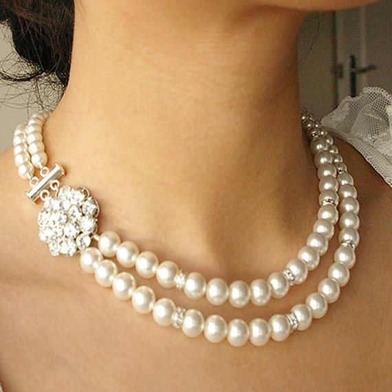 Vintage Bridal Necklace 55