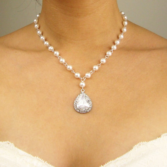 Indiangoldesigns Com Beautiful Antique Bridal Necklace: Wedding Necklace Vintage Bridal Necklace Cubic By Luxedeluxe