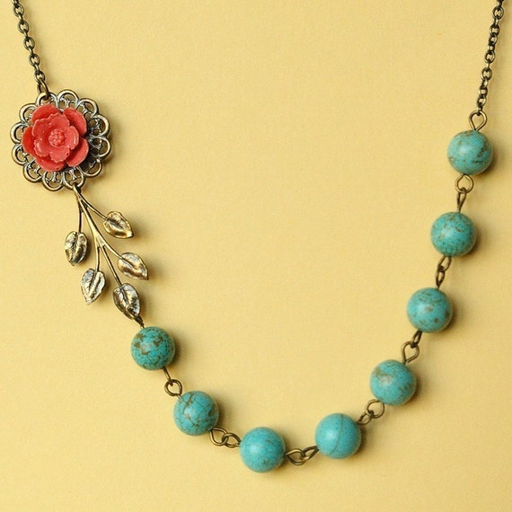 Jardin necklace turquoise for Jardin necklace