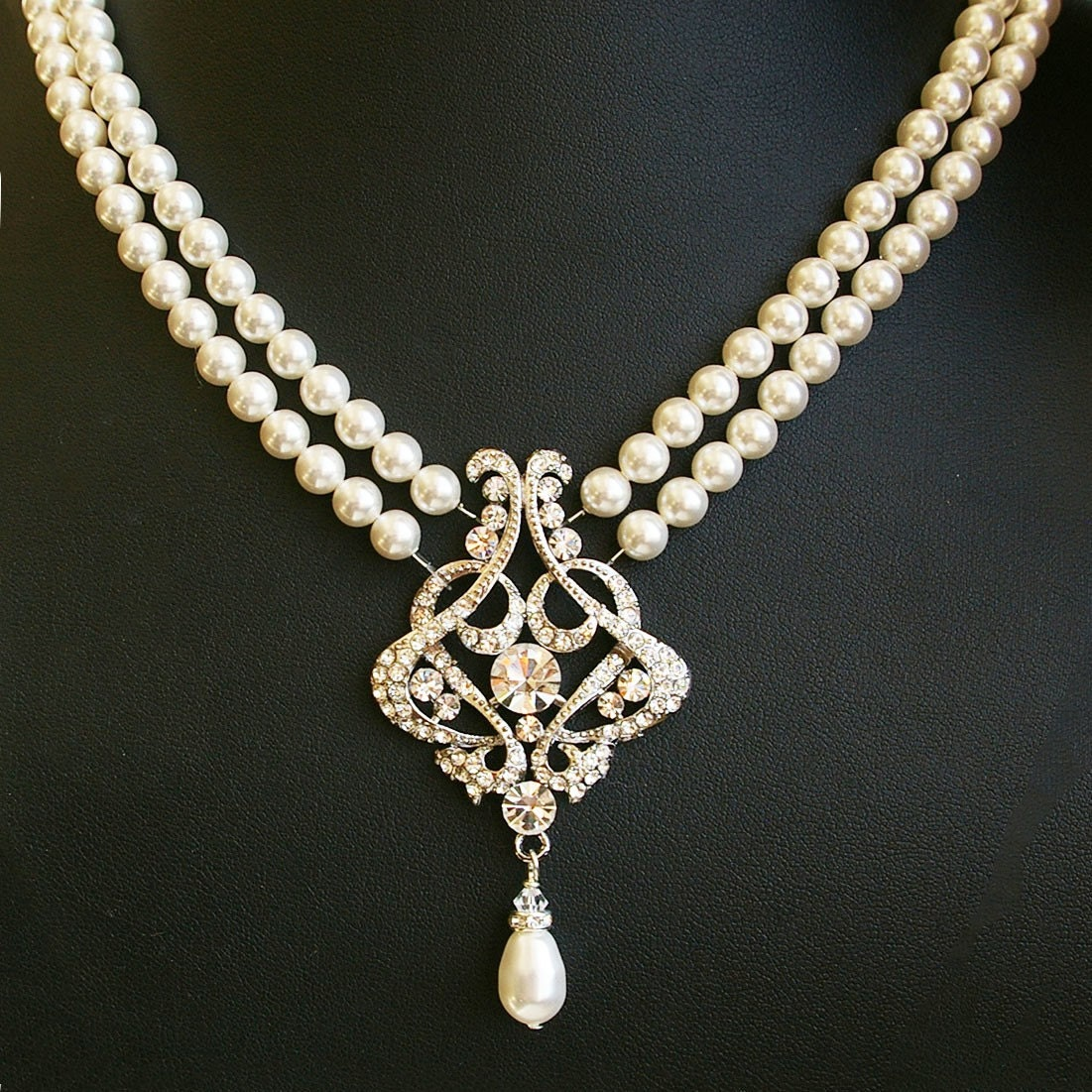Vintage Bridal Necklace 50