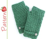 Fingerless Gloves Crochet Pattern Pdf, Great for beginners, Quick to Stitch