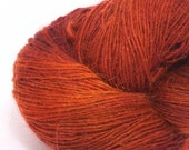 Handpainted Cashmere Mohair Yarn 406 yds 1 oz-Bronzed