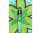 The Flower Fairy-drawing by 10 year old artist