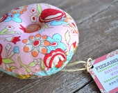 Alexander Henry Our Lady of Guadalupe Cherry Birch Reversible Pin Cushion