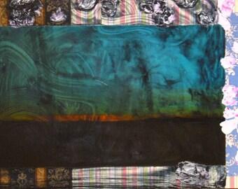 Original Painting Abstract Mixed Media Art by Aisyah Ang 24x36