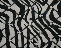 Black Tan Zebra Print Animal Stripe French Memo Board