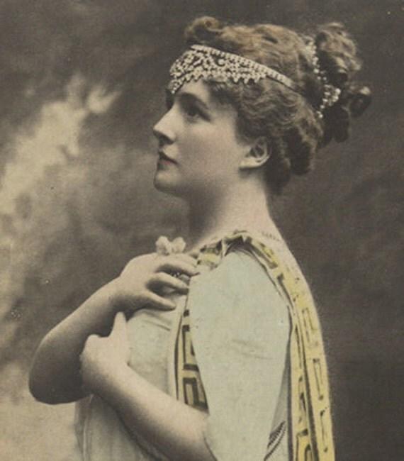 Vintage theater postcard Margaret MacIntyre