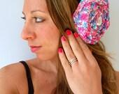 Large Vintage Lace Flowerbomb Poof Cupcake Headband