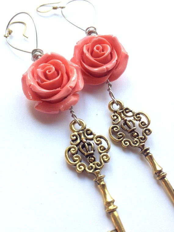The Key to My Heart Rhythm Nation Statement Earrings