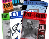 FaT GiRL and Size Queen zine collection
