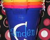 Monogrammed Sand Pail Bucket