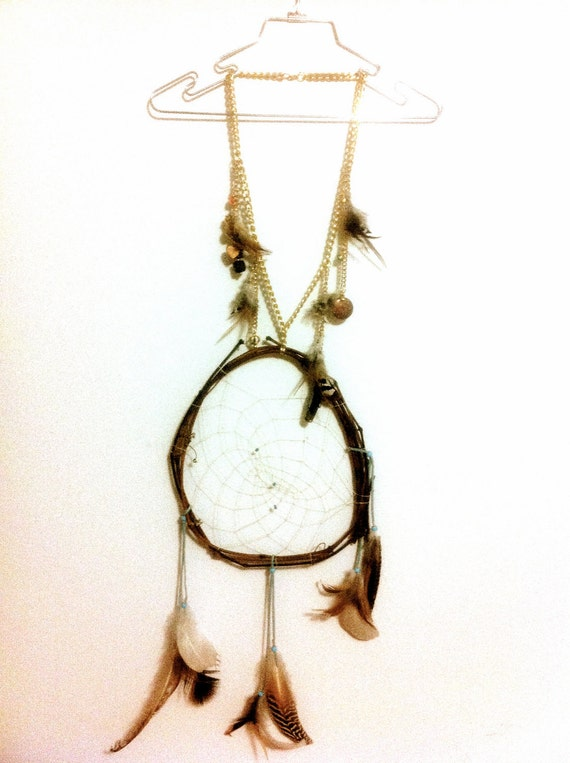 All The Dreams In The Universe Dream Catcher Statement Necklace Edition Deux