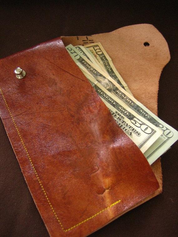 Lucky 13 - leather billfold