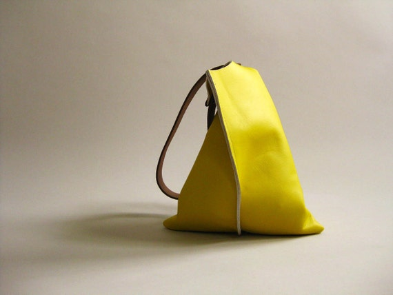 10in Wedge NEW - Primary collection - Lemon yellow leather