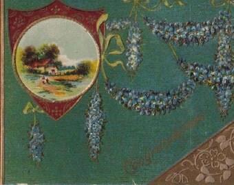 Vintage Congratulations Postcard