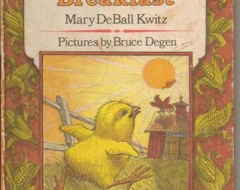 Little Chicks Breakfast by Mary DeBall Kwitz