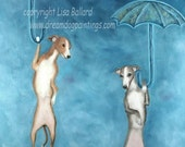 Come Float With Me - Italian Greyhound / Whippet