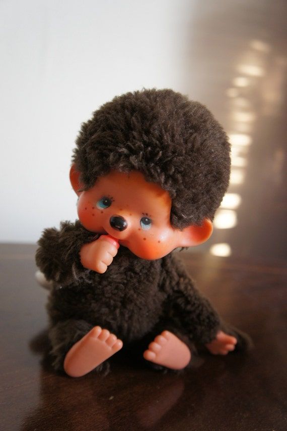 Vintage 1974 Monchichi CHIC A BOO Sekiguchi Monkey