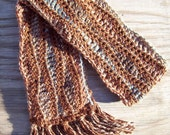 Woodland- A Brown and Earth Toned Scarf