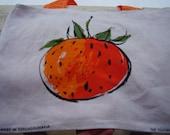 Oranges Tea Towel Tote