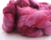 KOHLRABI - hand dyed Wensleydale top - Farmhouse Series