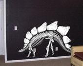 Big Stegosaurus Dinosaur Wall Graphic