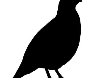 California Quail Vinyl Wall Decal