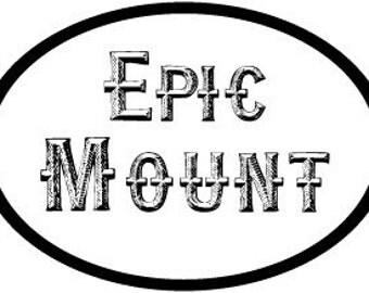 Epic Mount Vinyl Decal