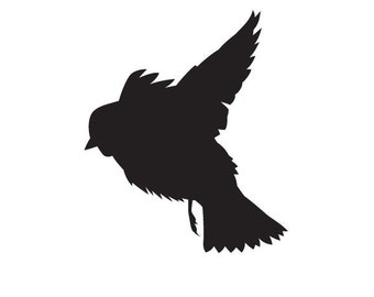 Bird Vinyl Decal Design 10
