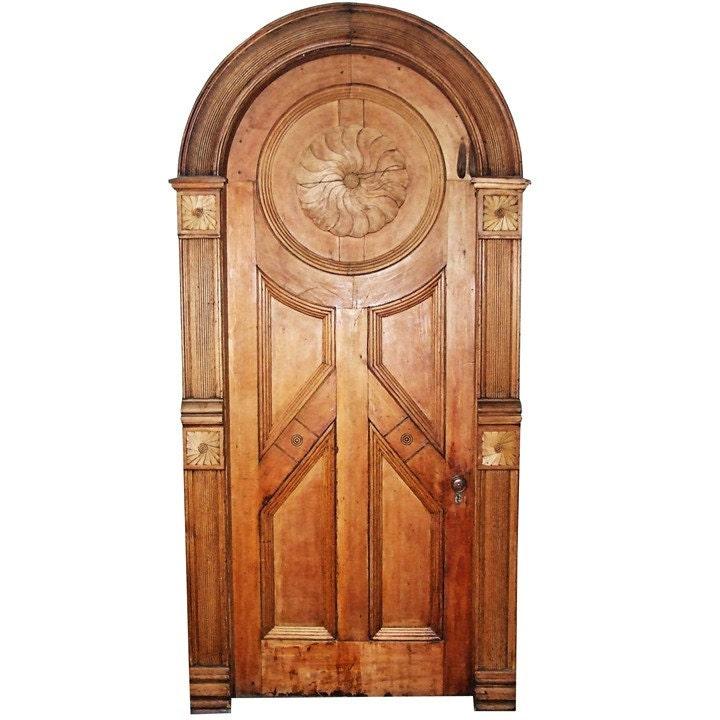 Fancy wooden fairy door vinyl wall decal by wilsongraphics for Wooden fairy doors that open