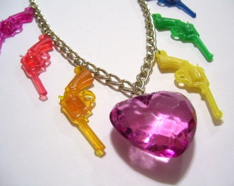 Pistolera Rainbow Necklace