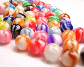 200+ Colorful Plastic Beads