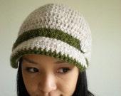 Wool belt brim cap / Memory Lane /  Forest and snow