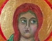Saint Brigit Icon