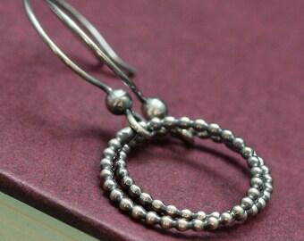 The Secret of Life - Sterling Silver Earrings