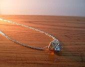 Chrome d20 Chain Necklace