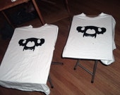 2 SM Black on white TBB Ts Special Order