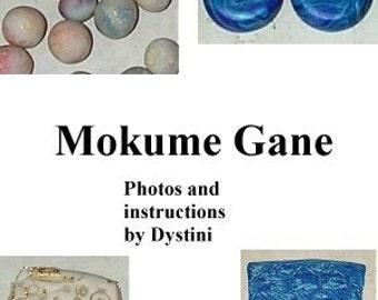Tutorial Mokume Gane Polymer clay ebook by Dystini