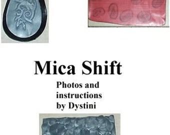 Tutorial Mica Shift Polymer clay ebook by Dystini