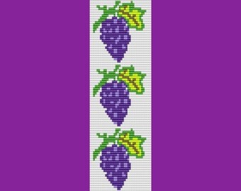 Grapes of Wrath Bead LOOM Pattern