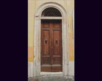 Roman Door Bead Tapestry Pattern LOOM