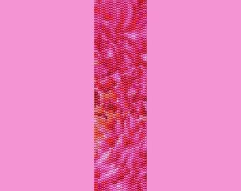 Pink Petal Bracelet Bead Pattern