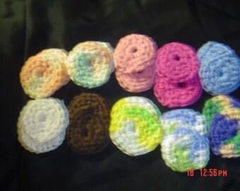 20 Reusable Cotton Balls