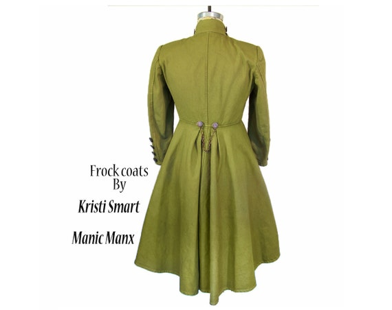 Steampunk trench coat womans size small