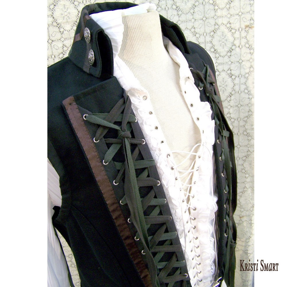 how to make a male vest