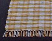 rag rug Opus in Chartreuse runner