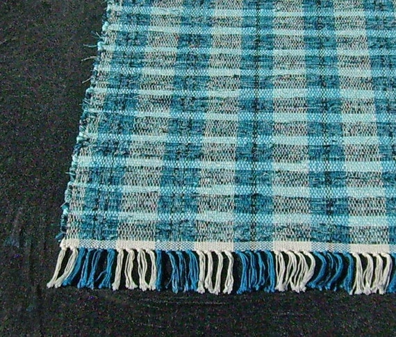 Rag Rug Runner Forever Plaid