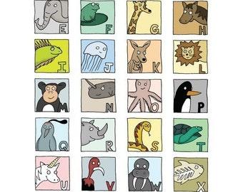 Alphabet Drawing