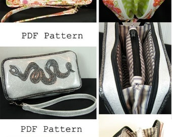PDF Pattern for Licking County's Finest Wrist Wallet